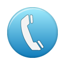 Telephone Blue Icon